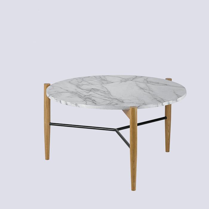 Replica marble top coffee table scandinavian design