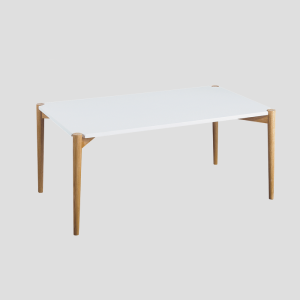 Italian design wooden coffee table for scandinavian furniture