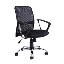 Office Mesh Height Adjustable Chair Black