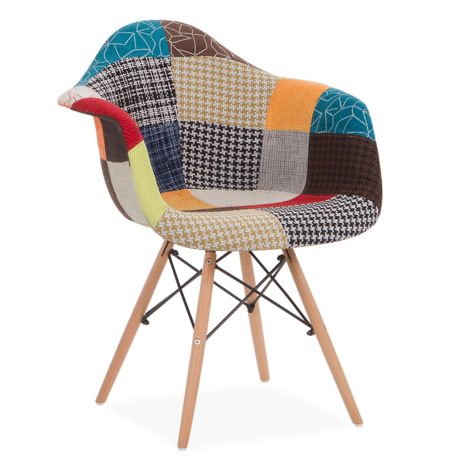 eames patchwork chair