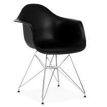 Eames DAR chair comfort black