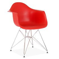 Eames DAR chair comfort red