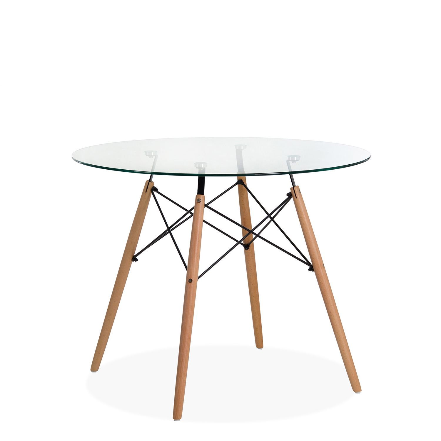 dining tables glass wooden legs