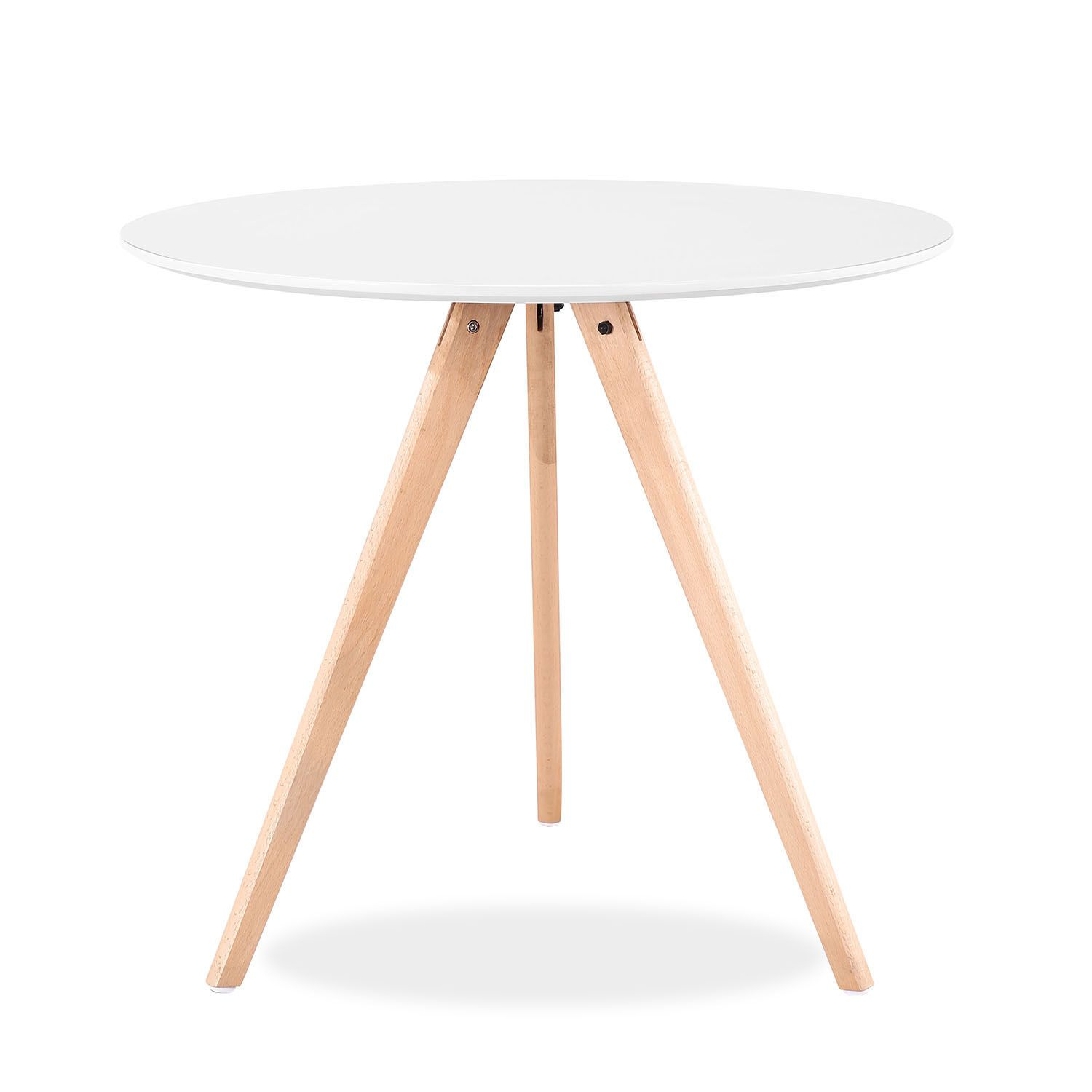 dining tables nordic MDF design beech wood legs
