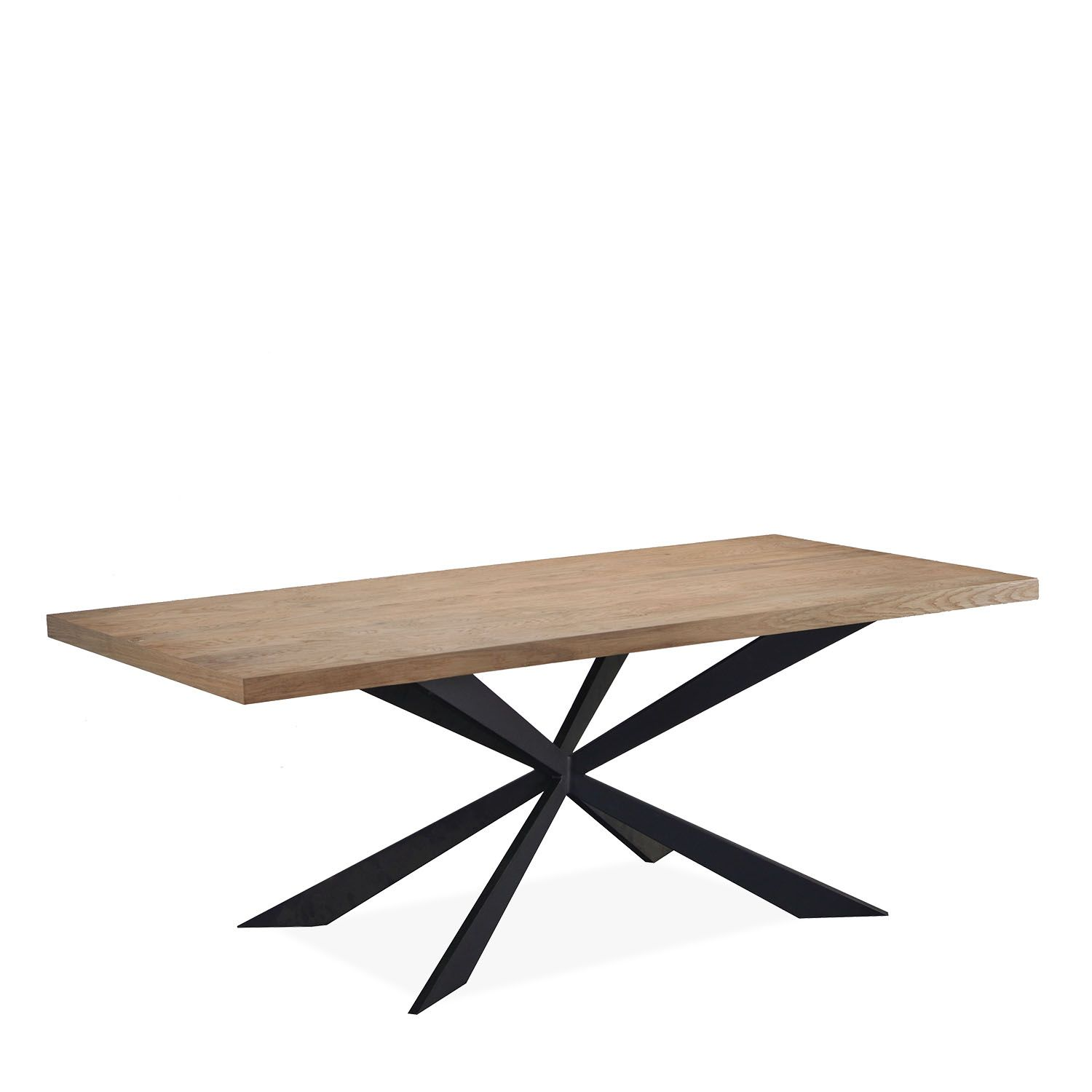 dining tables wood metal base