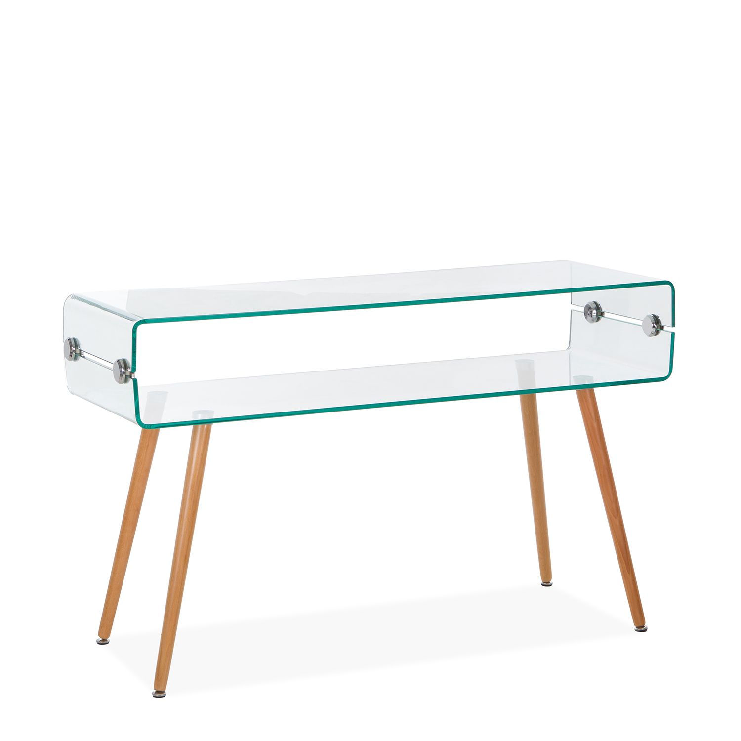 console table glass