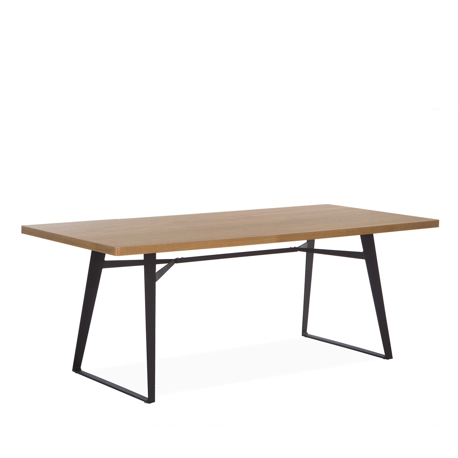 dining tables wood square metal base