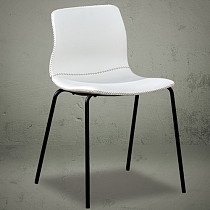 dining chairs white leather modern design china furniture