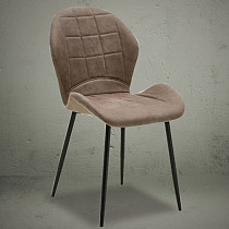 dining side chair leather mid century contemporary design