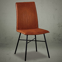 dining chairs high back leather contemporary design