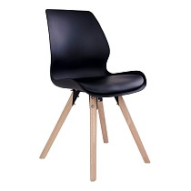 black chairs House Nordic