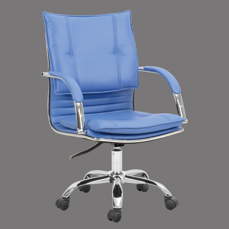 Mid back leather office chair comfortable china cheap design