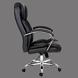 office chair hot sale leather seat swivel