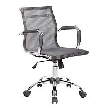 executive armchair, technical mesh Breathable, gray