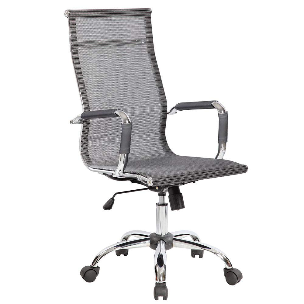 Office Chair, Mesh Technical Breathable, Gray