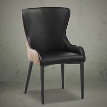 high back elegant design leisure dining chairs made in china