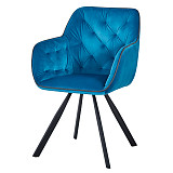 china furniture dining side chair contemporary design blue