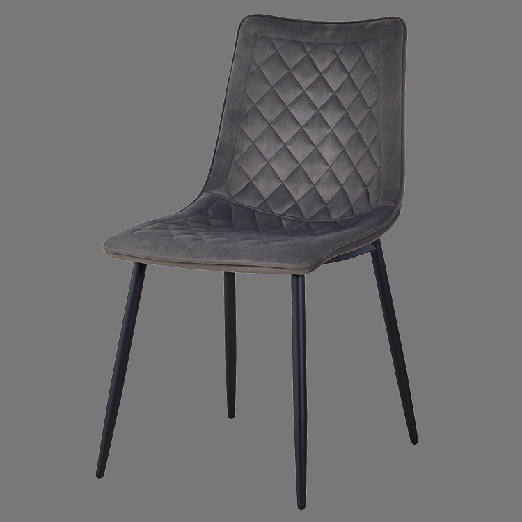 fabric dining side chair gray contemporary