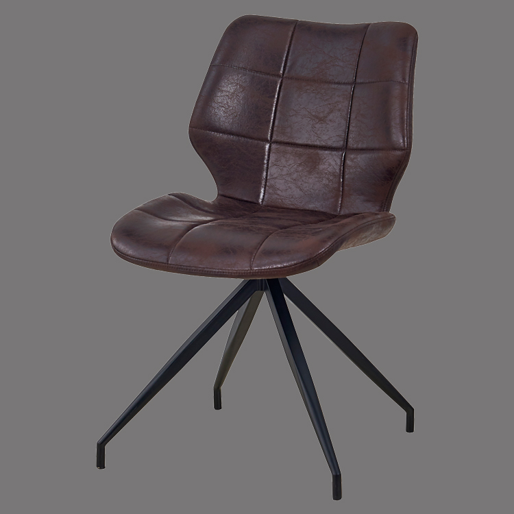 antique dining chairs leather mid century cafe chair