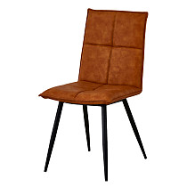 dining chair china simple design brown leather