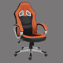 office chair orange and black made in china