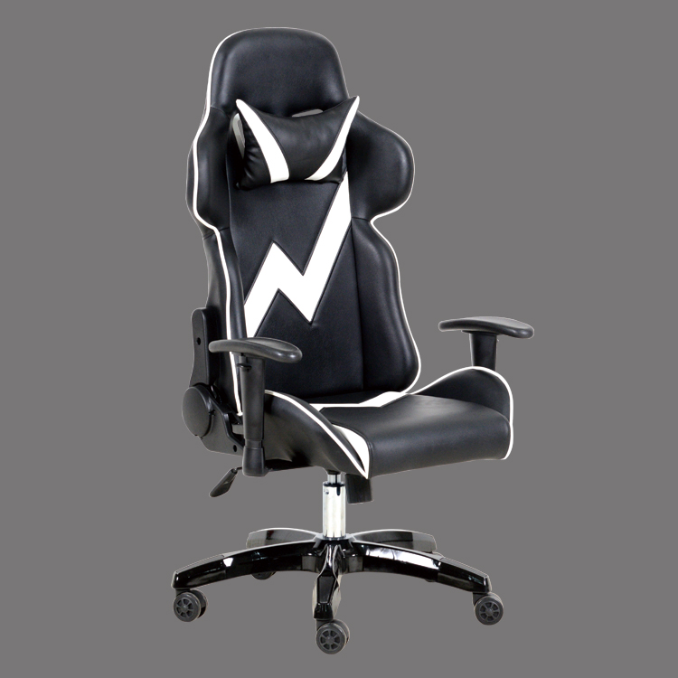 gaming chair leather adjustable swivel made in china