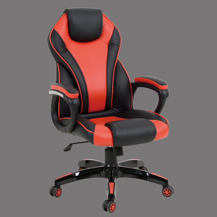 gaming office chair black and red made in china