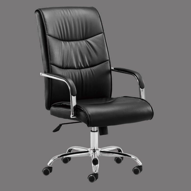 office chair black leather swivel hot sale in mid east countries