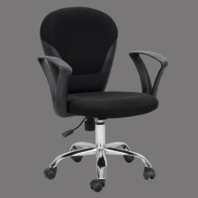 fabric office chair mid back made in china cheap
