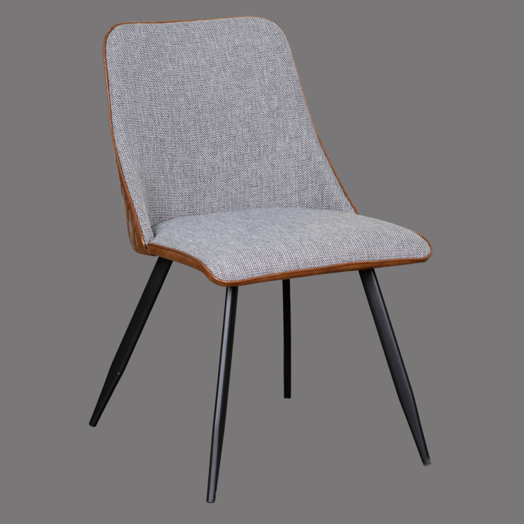 china furniture chair manufacturer wholesale leather and fabric dining side chair