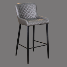 bar stool made in china counter height contemporary faux leather