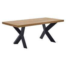square dining table metal base