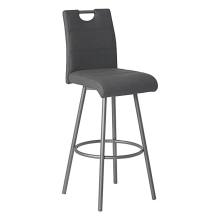 Counter bar stools eco leather with back