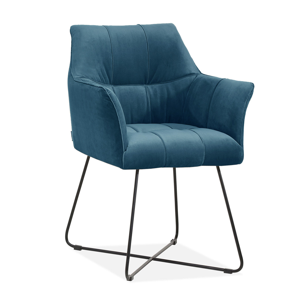 Comfortable design dining room chair with arm