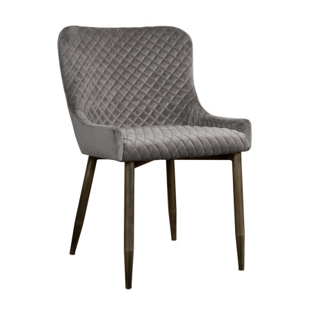 Grey fabric dining room chair new design made in china