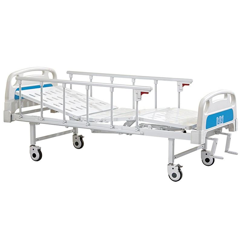 2 cranks manual hospital nursing home beds