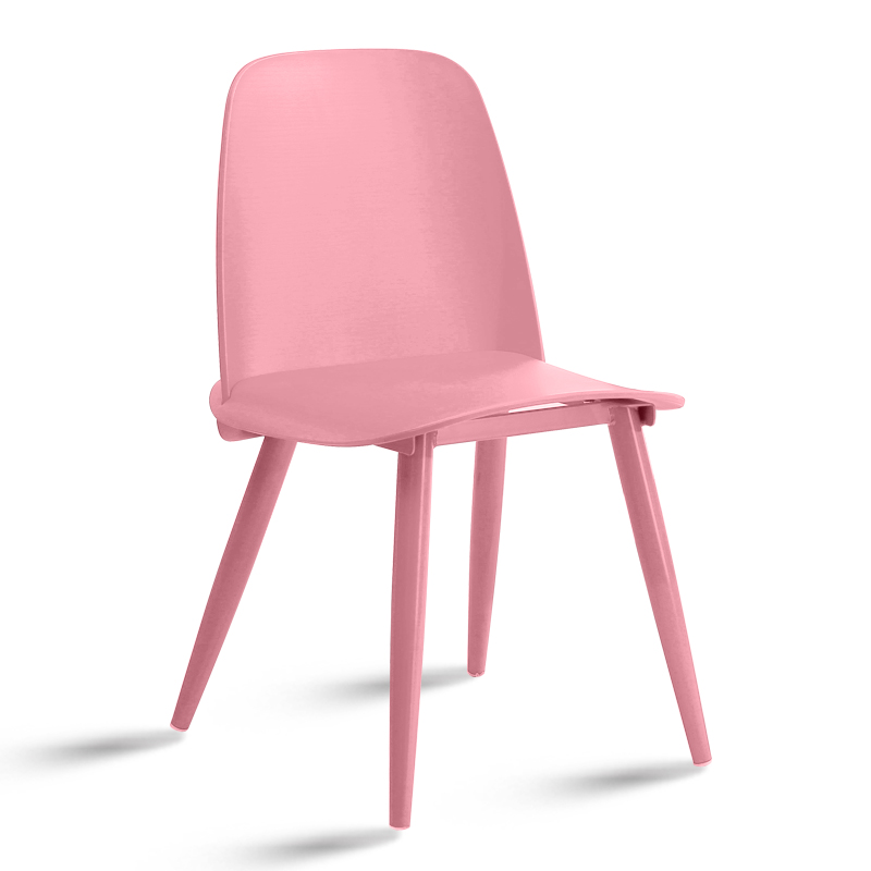 Replica nerd dining chair pink scandinavian design