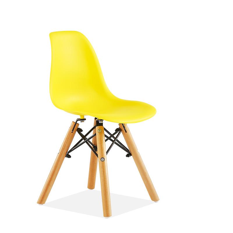 kids eames dsw chair yellow contemporary scandinavian design