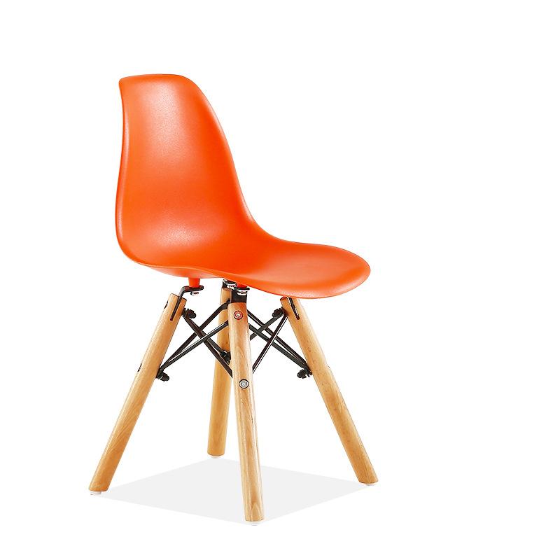 kids eames dsw chair orange contemporary scandinavian design