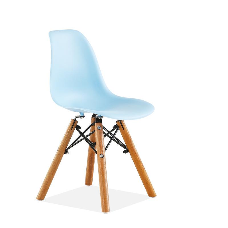 kids eames dsw chair blue contemporary scandinavian design
