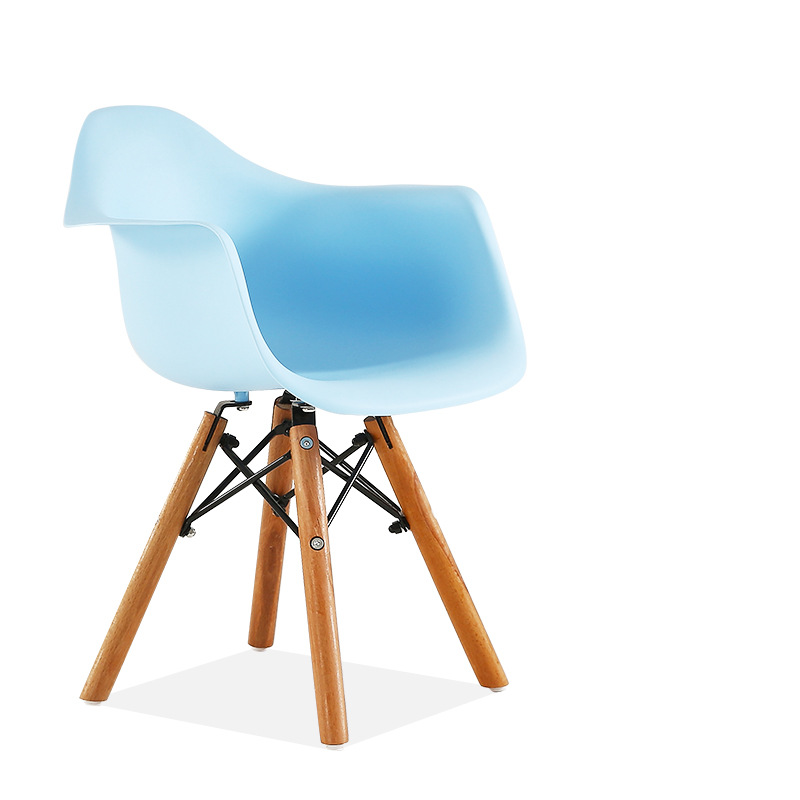 kids eames daw chair blue contemporary scandinavian design