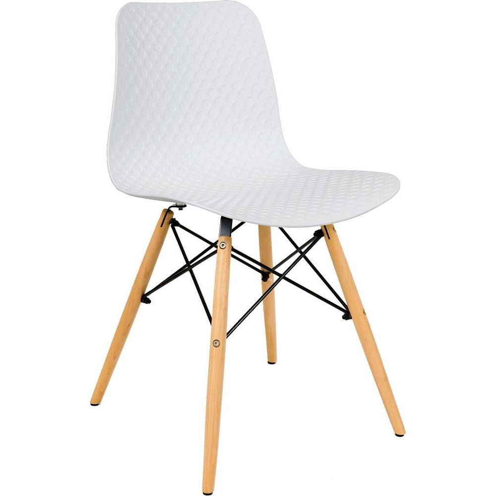 scandinavian design chair high back white contemporary cafe chair