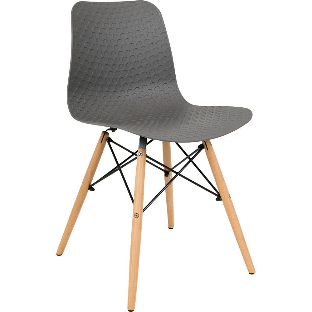 scandinavian design chair high back gray contemporary cafe chair