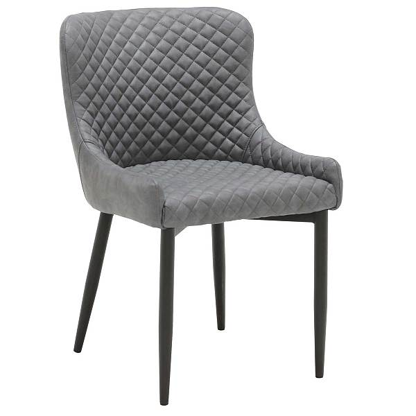 Gray UPHOLSTERED DINING ARMCHAIR