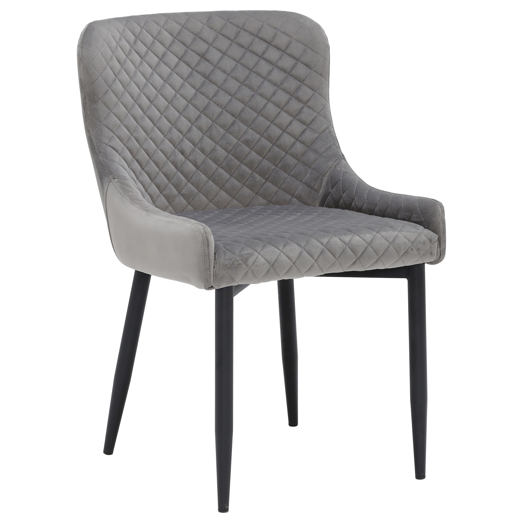 Gray FABRIC DINING ARMCHAIR Comfy