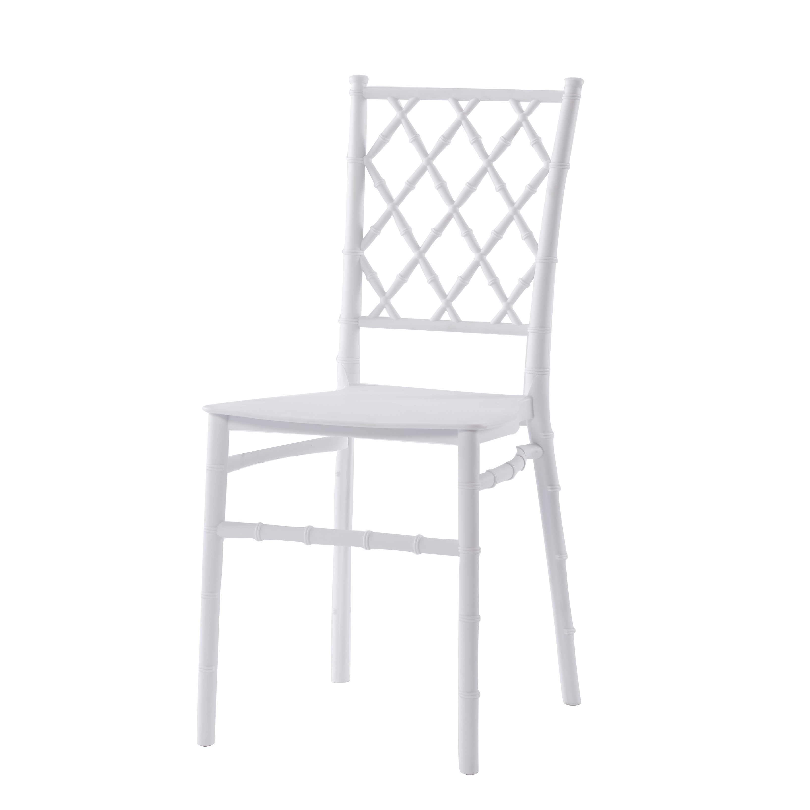 scandinavian design chiavari tiffany dining chair white high back