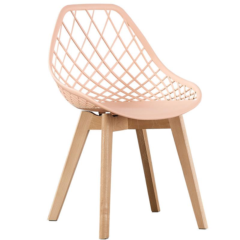 nordic chair new design modern cheap wood legs