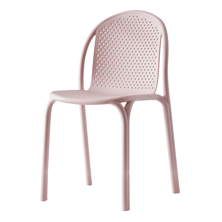dining chair plastic new design armless simple nordic design