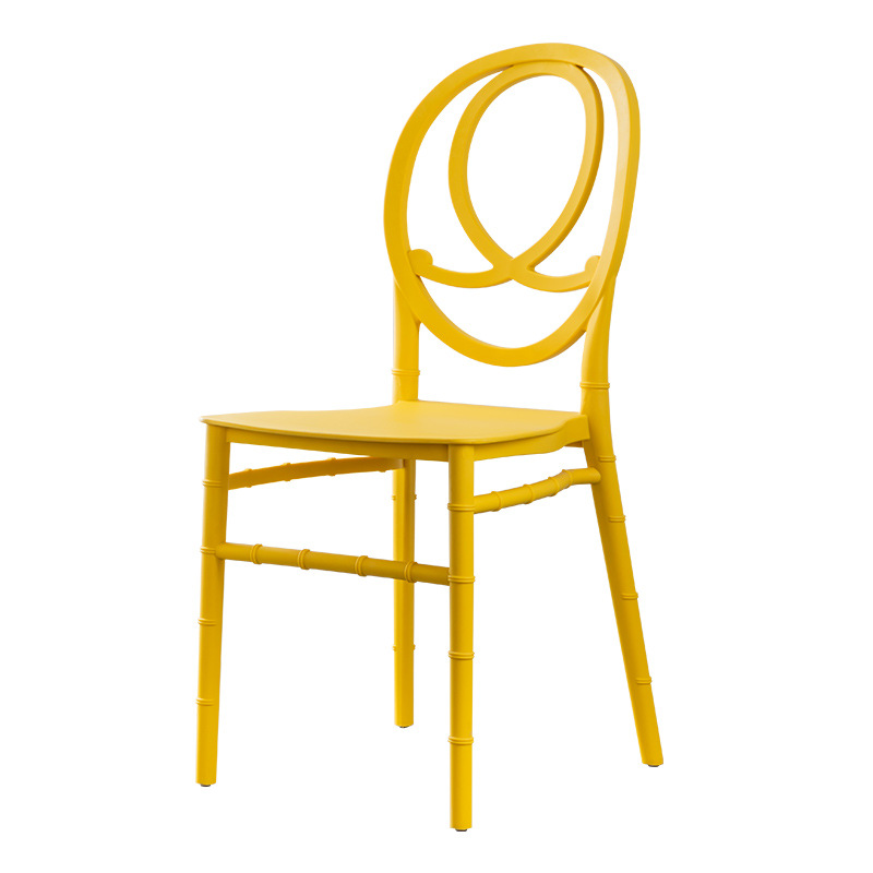 nordic style plastic banquet dining chairs for sale