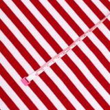 RED & WHITE 1X1 CM STRIPE
